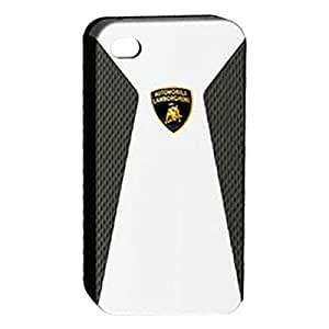 "Lamborghini IPA9BK 3.5"" Bumper Negro, Color blanco - fundas para teléfonos móviles"