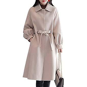 Amazon.com: HIENAJ Women's Winter Cloak Wool Blend Coat
