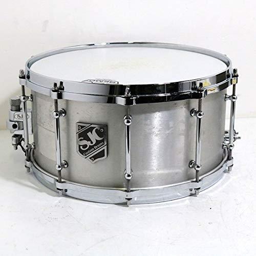 SJC / 4.7mm Aluminum 14 ×7  (Brushed Aluminum) スネアドラム アルミ   B07FSGD38Q