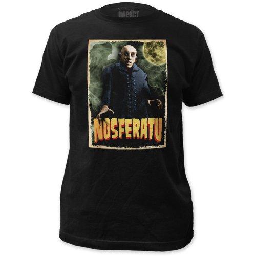 Impact Nosferatu Print Men's Fitted Cotton T-Shirt