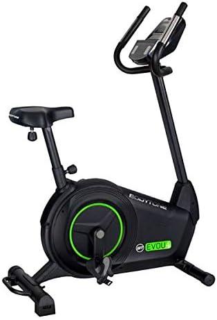 BT BODYTONE - EVOU4 - Bicicleta Estática Profesional para Tus sesiones Fitness en casa - Pantalla Led con Soporte Table y pulsómetro - Peso Máximo Usuario 135 KG.: Amazon.es: Deportes y aire libre