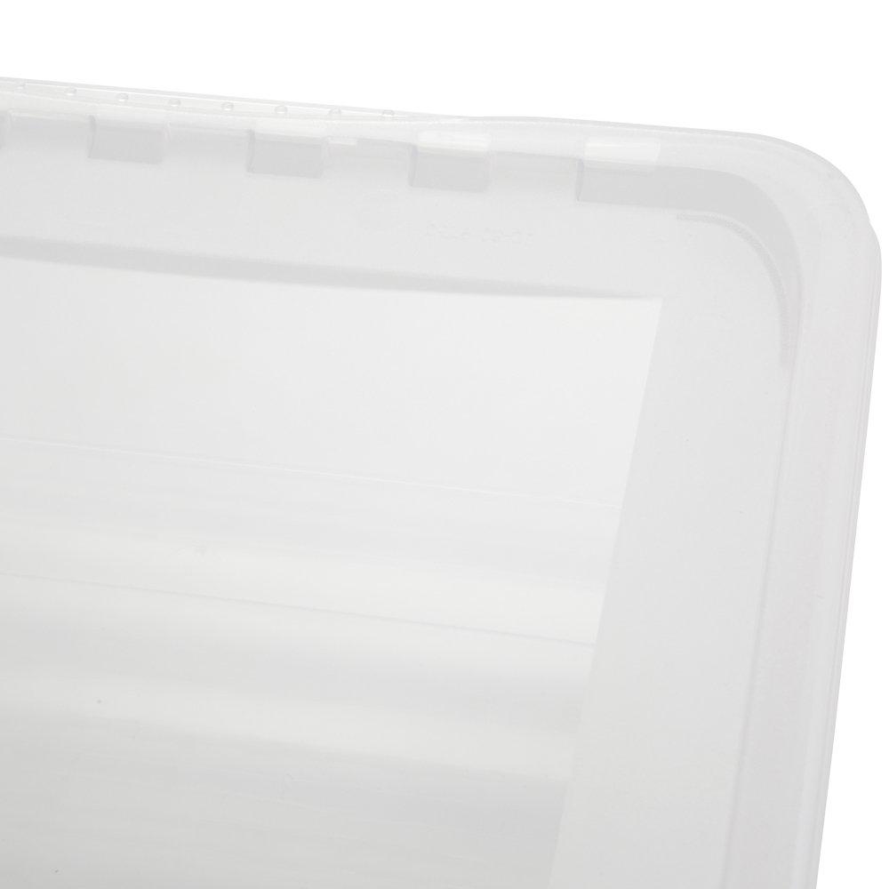 Natural Transparente 39 x 26.5 x 10 cm Unbekannt BEA Cajas de almacenaje Pl/ã/¡Stico