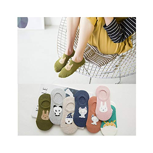 - Colorful Short Invisible Fruit Woman Sweat Summer Comfortable Cotton Women Boat Socks Low Ankle Female 1 Pair = 2 Pieces X111 Xg03 Talla Única