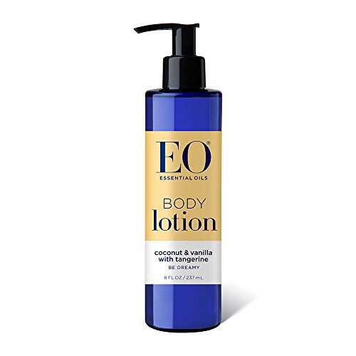 EO Body Lotion, Coconut and Vanilla, 8 Ounce