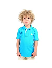 CHERRY CRUMBLE Soft ORGANIC Cotton Polo Shirt For Boy