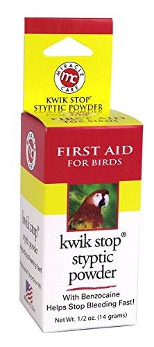 Miracle Care Kwik Stop Styptic Powder for Birds (0.5 - Kwik Gel Gimborn Stop