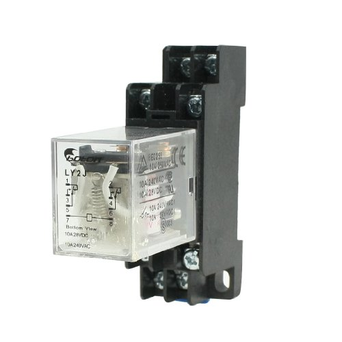 Best DIN Mount Relays - Buying Guide | GistGear Uxcell Iec Wiring Diagram on
