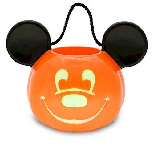 Disney Light-Up Jack O'Lantern Mickey Mouse Trick or Treat Bucket by Disney
