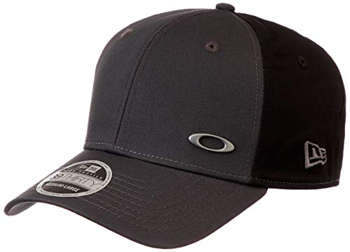 Oakley Men's Tinfoil Cap, Grigio Scuro, Medium/Large (Surfing Baseball Caps)
