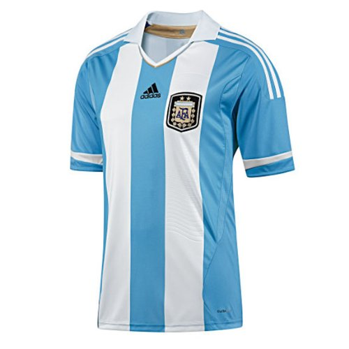Adidas Youth Argentina Soccer Jersey (Home 2011/12) (XL) ()