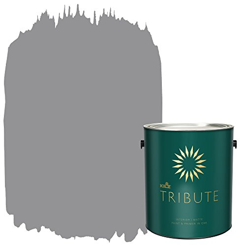 KILZ TRIBUTE Interior Matte Paint and Primer in One, 1 Gallon, Nomad's Trail (TB-35) - Paint Bedroom