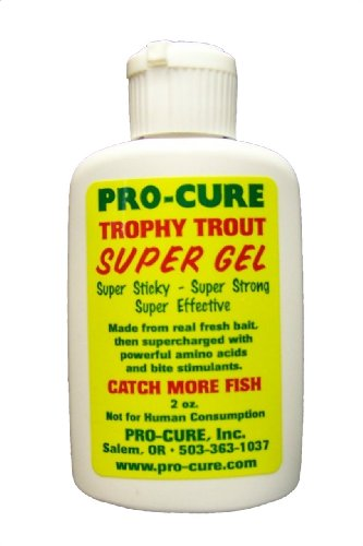 Pro-Cure Trophy Trout Super Gel, 2 (Rainbow Trout Bait)
