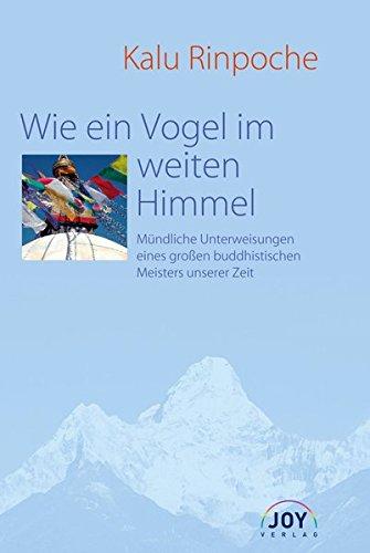 Wie ein Vogel im weiten Himmel Taschenbuch – 1. September 2007 Kalu Rinpoche Joy 3928554646 Nichtchristliche Religionen