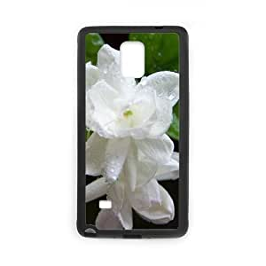 Samsung Galaxy Note 4 Cases Flower 115 for Teen Girls Protective, Samsung Galaxy Note 4 Case Case for Teen Girls Protective [Black]