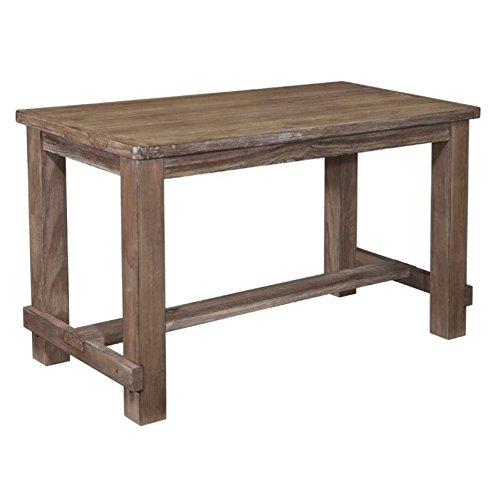 Ashley Pinnadel Rectangular Counter Height Dining Table in Light Brown (Table Height Counter Rectangular)