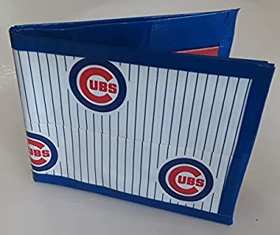Chicago Cubs Bi-Fold Duct Tape Wallet