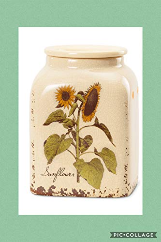 SCENTSY RUSTIC SUNFLOWER. WARMER. - FULL SIZE. - NEW OUT 2018 (Sunflower Candle Warmer)
