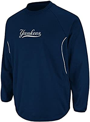 the best attitude a78ba f26df Majestic York Yankees Authentic Therma Base Tech Fleece Big & Tall Sizes