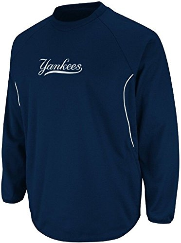 Base Therma Sweatshirt (Majestic New York Yankees Authentic Therma Base Tech Fleece Big & Tall Sizes (5XL))
