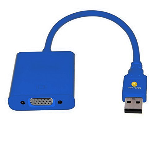 USB to VGA Adapter, HD USB 3.0 to VGA Adapter External Video (Premium Grade Core Bit)