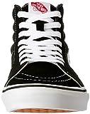 Vans Adult SK8-Hi Core Classics, Black/Black/White
