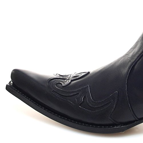 Sendra Negro Nero unisex Sendra Stivali adulto 7783 western Boots Boots SwFF6Bq