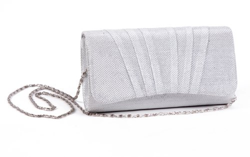 bags Damara Party Pleated Womens Perfectly Champagne Clutch xg8zW7pSq8