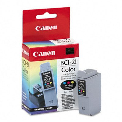 Canon Model BCI-21C Tricolor Ink ()