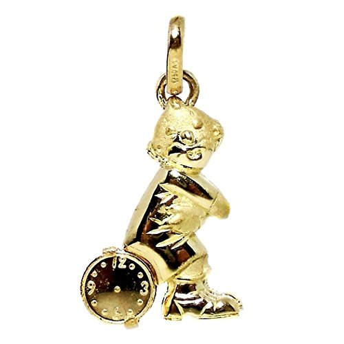 18k montre pendentif en or de clown [290]