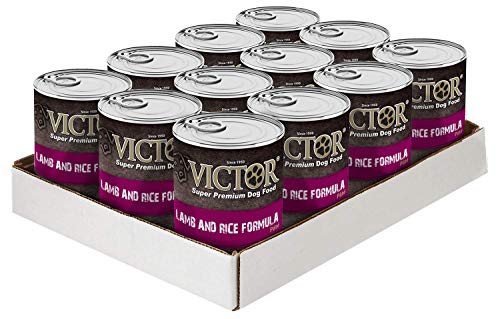 "VICTOR Lamb & RiceFormula ""Pate"" Dog Food -Canned, 12/13.2 oz. Cans"