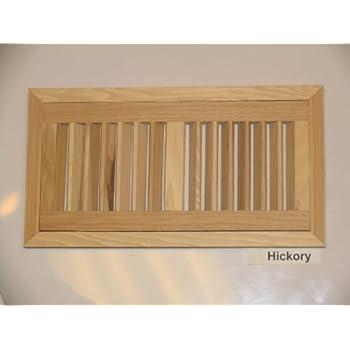 4 Quot X 10 Quot Hi Output Hickory Flush Unfinished Wood Heat