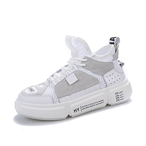 Sneakers Blanco Mujeres Mujeres 38 Pareja QQWWEERRTT Nuevo 5 Mujer Universal Transpirable Moda Verano pOxw7q5a