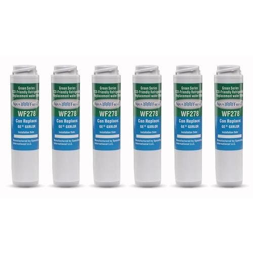 Replacement Water Filter Cartridge For AquaFresh GXRLQR 6 Pack