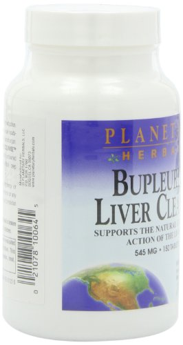 Planetary Herbals Bupleurum Liver Cleanse 545mg - With Calcium, Cypress Rhizome, Ginger & More - 150 Tablets (Pack of 2) by Planetary Formulas (Image #7)