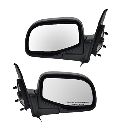 Manual Side View Mirrors Left & Right Pair Set for Ford Ranger B-Series ()