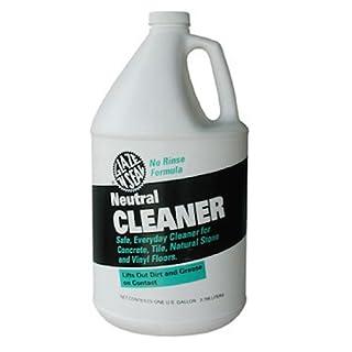 Glaze 'N Seal 343 Clear Neutral Cleaner Gallon, Plastic Bottle, 128 fl. oz.