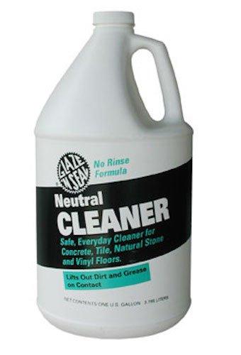(Glaze 'N Seal 343 Clear Neutral Cleaner Gallon, Plastic Bottle, 128 fl. oz.)