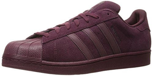 Adidas Originals Mænds Superstjerne Rødbrun, Maroon, Drkbur