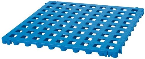 Finnsa Plástico Suelo de Rejilla Azul: Amazon.es: Jardín
