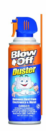MAX Professional 1229 Blow Off Mini General Purpose Air Duster Cleaner, MB-111-229 (3.5 oz) ()