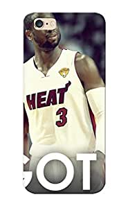 Appearance Snap-on Case Designed For Iphone 6 Plus- Nba Lebron James Beat Dwyane Wade Chris Bosh Miami Heat (best Gifts For Lovers)