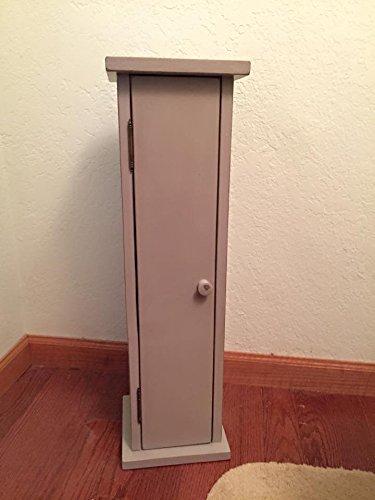 Primitive Toilet Paper Storage Cabinet For The Floor