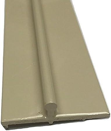 Tirador de aluminio para puerta corredera VINYL PATIO de 2,4 m, color marrón: Amazon.es: Bricolaje y herramientas