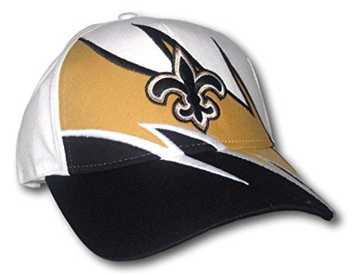 Fan Apparel New Orleans Saints Tri-Color Adjustable Hat Lid (Hat Cap Lid)