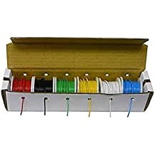 Hook up Wire Kit (Stranded Wire Kit) 22 Guage (6 different colored 25 Foot spools included) - EX ELECTRONIX EXPRESS