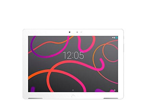 BQ Aquaris M10 - Tablet de 10.1''(HD , WiFi, 2 GB de RAM, 16 GB de memoria interna, Android 5.1 Lollipop), color blanco: Bq