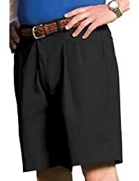 Garment Men's Business Casual Pleated Front Chino Short