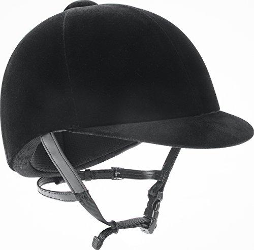 IRH Medalist Velveteen Riding Helmet, Black,  7 -