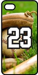 Baseball Sports Fan Player Number 23 Black Plastic Decorative iphone 6 4.7 Case