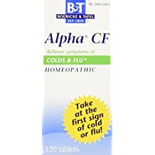 Boericke & Tafel - Alpha Cf Colds, 120 tablets
